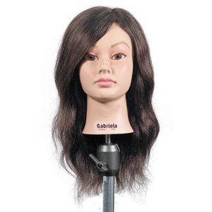 "Celebrity Gabriela Manikin 19""-21"" Brown Hair (560"