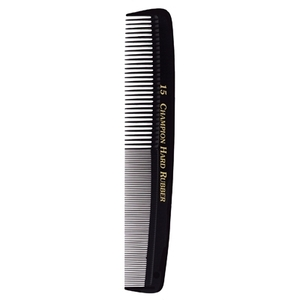 "Champion Cutting Comb 7"" Edged Flexible Back F"