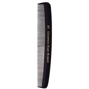 "Champion Marceling Comb 7"" Strong FineCoarse Te"