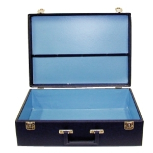 City Lights Duratex Attaché Case Deluxe (716-BK)