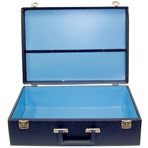 City Lights Duratex Attaché Case Large (15-BK)