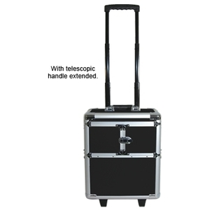City Lights Lockable Aluminum Case On Wheels (ATC2