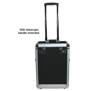 City Lights Lockable Aluminum Case On Wheels (ATC3