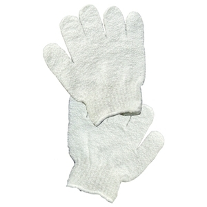 Fantasea White Exfoliating Gloves (FSC282)