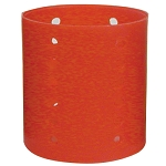 "Jumbo Magnetic Rollers 2-1/2"" Red (807X)"