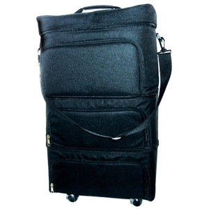 Milan Collection 3 Compartment Soft Traveling Case