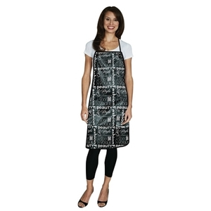 Salonchic Reversible Metro Salon Apron-GraffitiBl