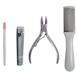 Satin Edge 4 Piece Pedicure Kit (SE-2076)