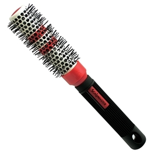 "Scalpmaster 1-12"" Ceramic Thermal Brush with Ther"