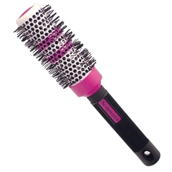 "Scalpmaster 2"" Ceramic Thermal Brush with Thermal"