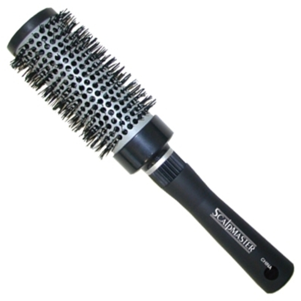 Scalpmaster Ceramic Nylon Bristle Curling Brush 2""
