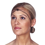 Scalpmaster Invisible Hairnets 3-Pack Black (3085