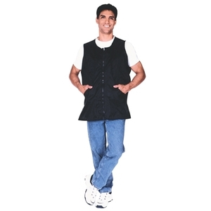 Scalpmaster Nylon Vest Jacket Zipper Black (3054)