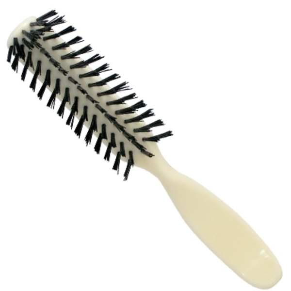 Scalpmaster Round Neck 5 Row Brush Ivory (S-5-IV
