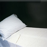 Scalpmaster Twin Size Fitted Sheet White (TOW16-