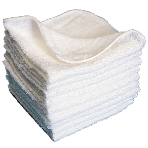 Scalpmaster Wash Cloth 1 Lb. White (TOW14-WH)