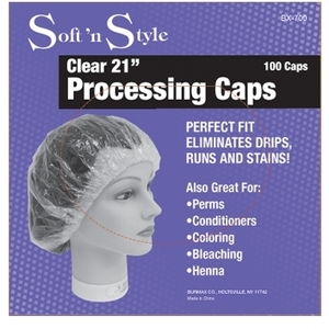 Soft 'n Style 100 Piece Processing Caps (BX-700)