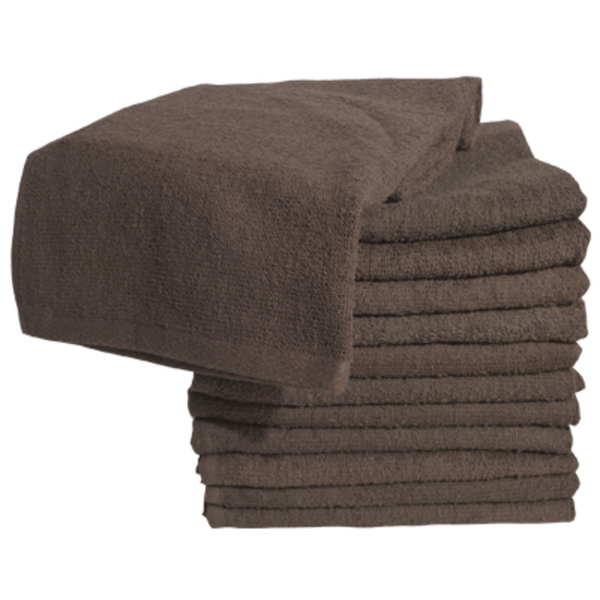 Soft 'n Style Bleach Proof Towel Brown (TOW-7-BR
