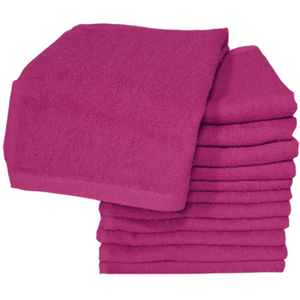 Soft 'n Style Bleach Proof Towel Burgundy (TOW-7
