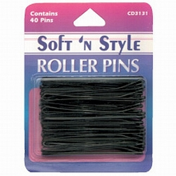 Soft 'n Style Bronze Carded Roller Pins (CD-3132)