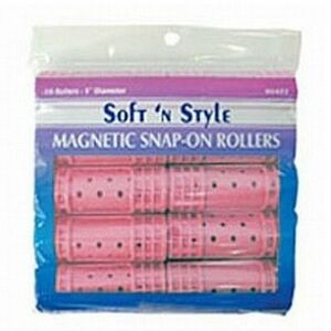 Soft 'n Style Jumbo Magnetic Snap Roller (00423)