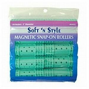 Soft 'n Style Large Magnetic Snap Roller (00422)