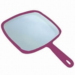 "Soft 'n Style Make-Up Mirror 8"" X 9"" Burgundy (SNS"