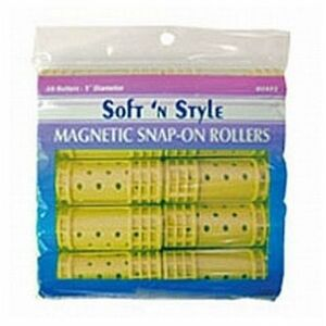 Soft 'n Style Medium Magnetic Snap Roller (00421)