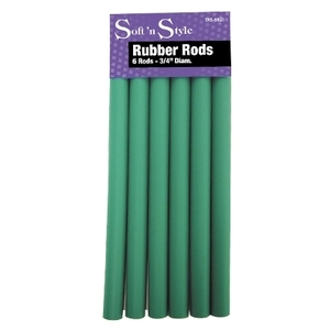 "Soft 'n Style Rubber Rod Long Green 34"" (SNS-RR"