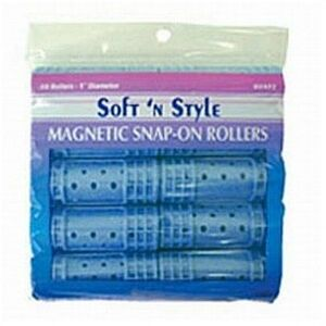 Soft 'n Style Small Magnetic Snap Roller (00420)