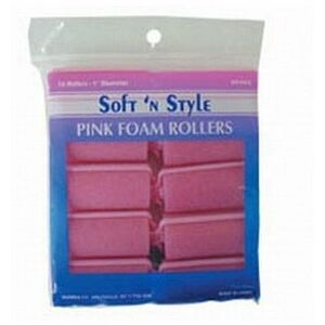 Soft 'n Style Small Pink Foam Roller (00400)