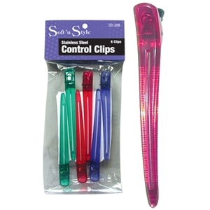 Soft 'n Style Stainless Steel Control Clips (CD-20