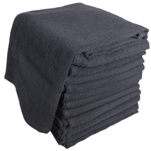 "Soft 'n Style Terry Towel 2-12"" Lbs. Black (TOW"