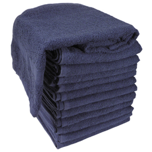 "Soft 'n Style Terry Towel 2-12"" Lbs. Navy (TOW-"