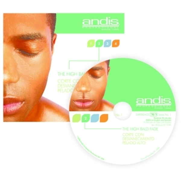 "Andis DVD ""High Bald Fade"" (A12790)"