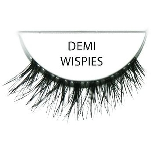 Ardell Invisiband Human Lashes Demi-Wispies Blac