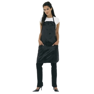 Betty Dain Satin Stylist Apron Tie String Black
