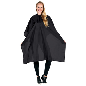 Betty Dain Nylon Styling Cape Velcro Black (BD19