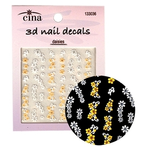 CinaPro Nail 3D Daisy Decals (CI-18013)