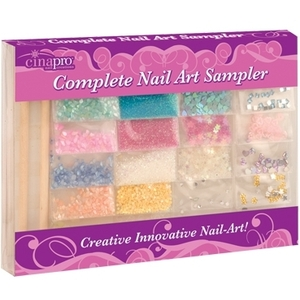 CinaPro Nail Art Sampler Kit 20 Pack (CI-18040)