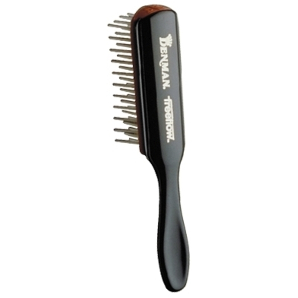 Denman Med Volume Cushion Brush Wide Nylon 7 R