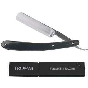 "Fromm Straight Razor 58"" Round Point German Stain"