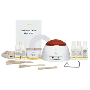 GiGi Mini-Pro Kit Heater Wax Lotion Wax-Off