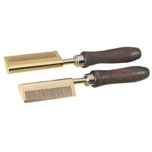 Golden Supreme Pressing Comb Smooth Back Brass (