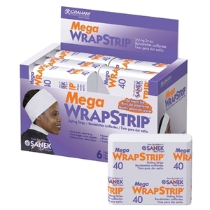 Graham Mega Wrap Strips 40 Strips per Pack 9 P