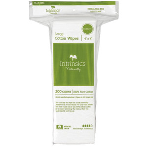 Intrinsics 4X4 100% Cotton Esthetic Wipes 200 Co