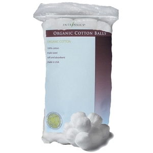 Intrinsics Organic Cotton Balls 100 Count (IN189