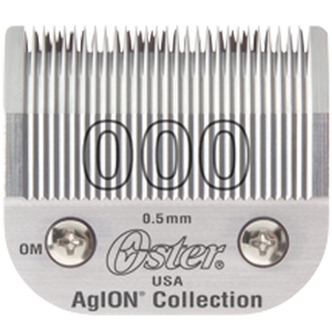 Oster Blade 000 Cuts Very Close For Model 76 (76