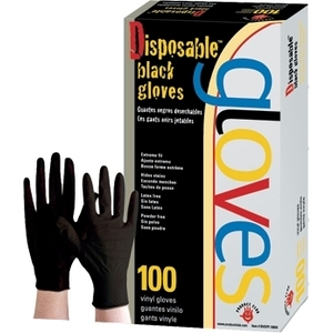 Product Club Xtreme Black Gloves Large 100 Cou