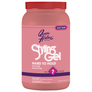 Queen Helene Hard-To-Hold Styling Gel Pink 5 Lb.